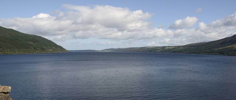 A pleasant day at Loch Ness