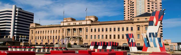 Adelaide Central plaza, South Australia