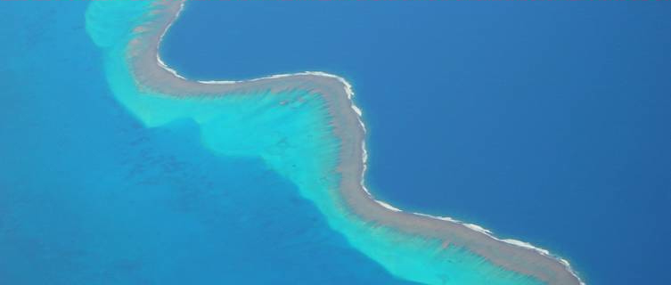 Aerial shot of Noumea, New Caledonia