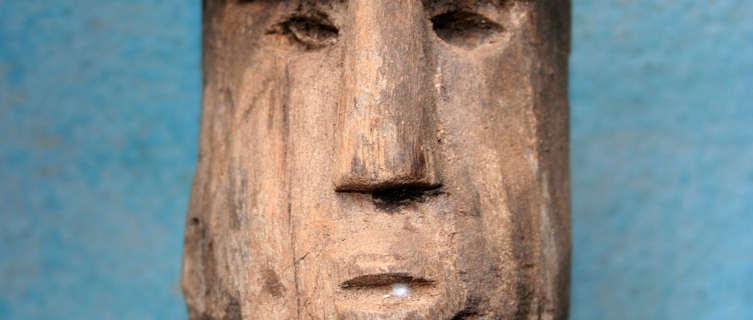 African totem, Benin