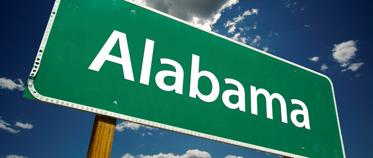 Alabama road sign