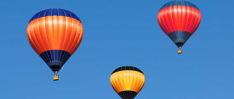 Albuquerque hosts the word's largest hot air balloon festival, New Mexico