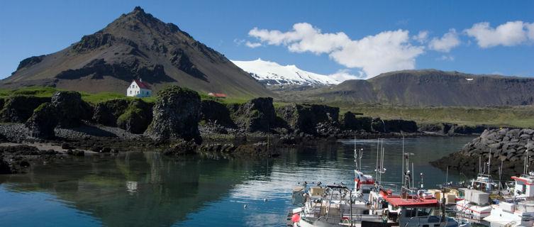 Arnarstapi Fishing hamlet in Iceland