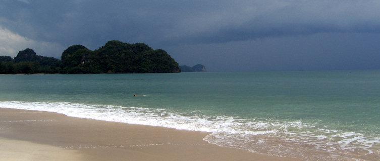 Beach at Langkawi Island, Malaysia