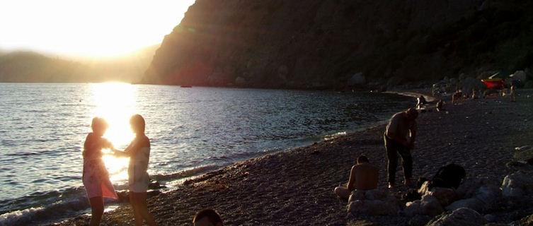 Beach life, Crimea