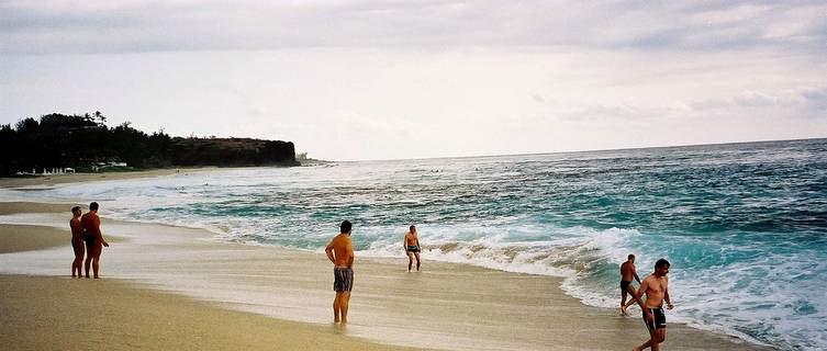 Beach on La Réunion