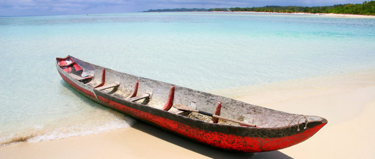 Beach paradise in Madagascar