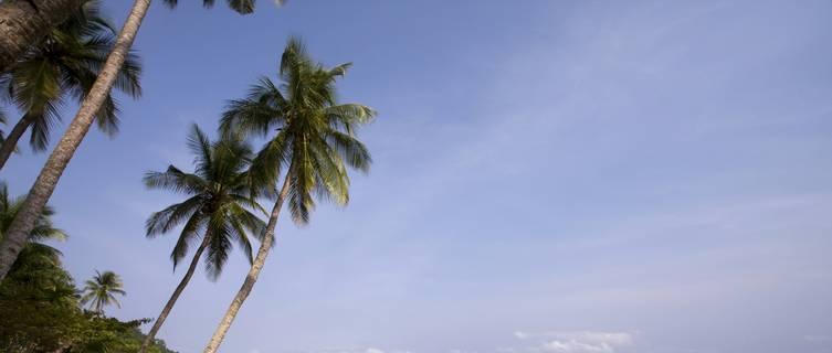 Beautiful beach of Sao Tome e Principe