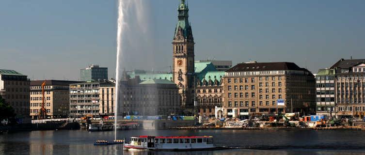 Binnenalster zum Rathaus, Hamburg