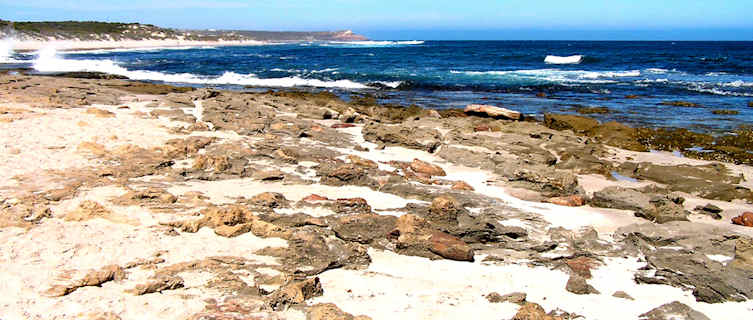 Blue holes, Western Australia
