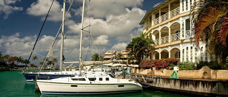 Bridgetown harbour, Barbados