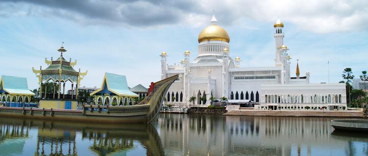 Brunei's beautiful mosque