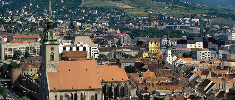 Capital of Slovakia, Bratislava
