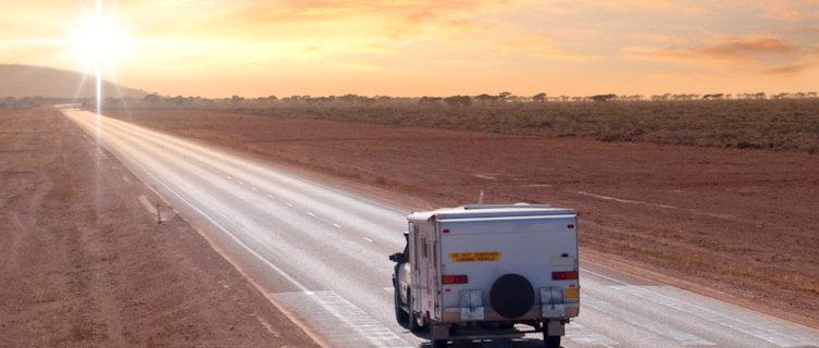 Caravanning across South Australia's Outback