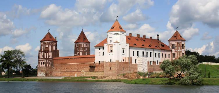 Castle in Mir, Belarus
