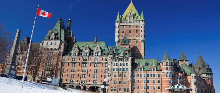 Chateau Frontenac, Quebec City, Quebec