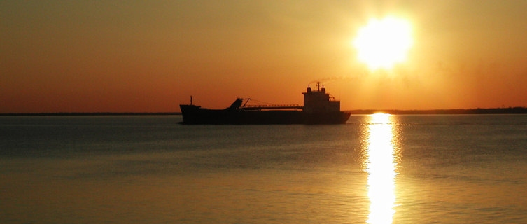 Chesapeake sunset, Maryland