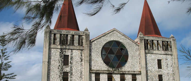 Church in capital city Nuku'Alofa