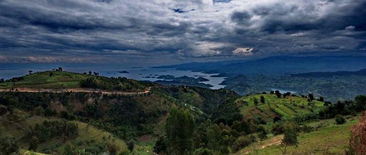 Clouds above Lake Kivu, Rwanda