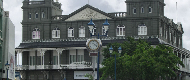Colonial building, Bridgetown
