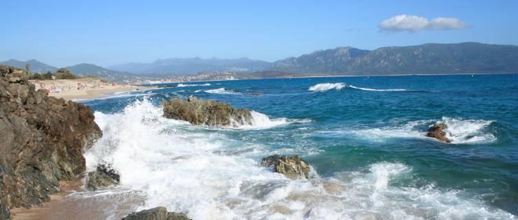 Corsica beach, France