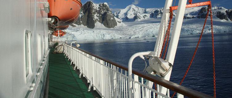 Cruise ship, Antarctica