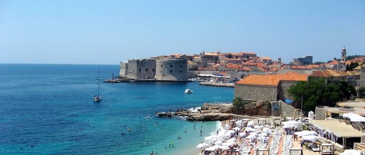 Dubrovnik has gorgeous beaches