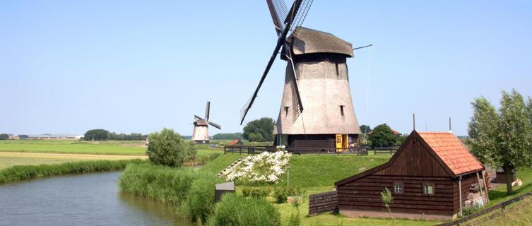 Dutch windmills, Netherlands