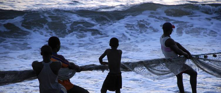 Fishermen in Sierra Leone