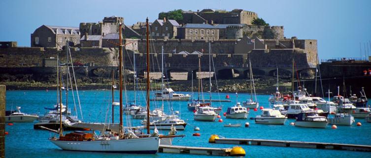 Fishing boats at Saint Peter's Port, Guernsey