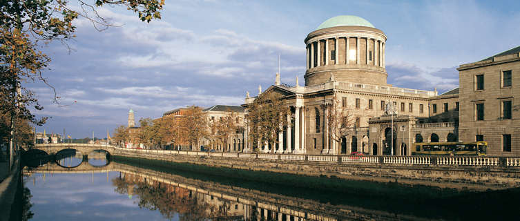 Four Courts and River Liffey, Dublin