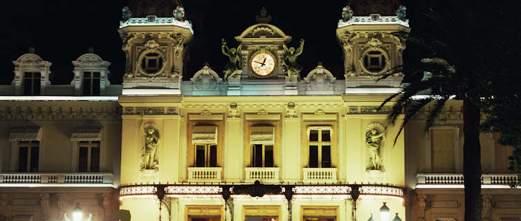 Gamble at Monte Carlo Casino, Moncaco