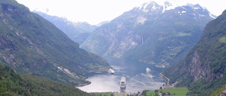 Geirangerfjord, our UNESCO World Heritage site in Norway