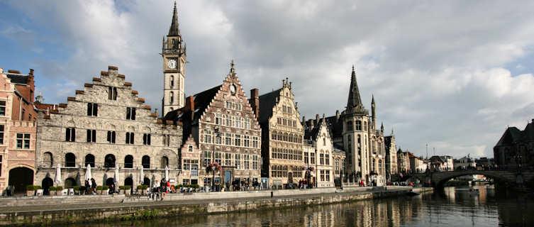 Ghent riverside