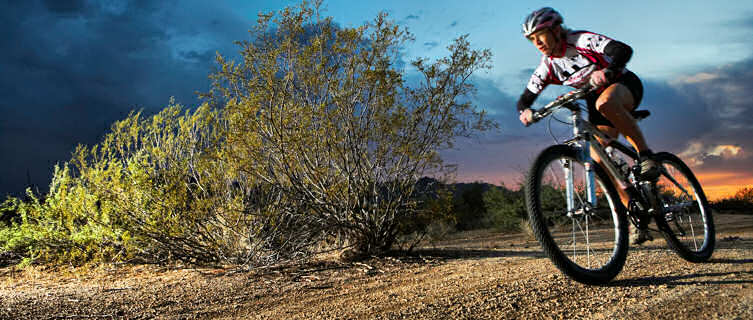 Go mountain biking in Arizona