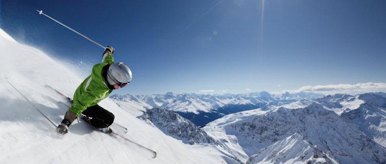 Go skiing in Swizterland