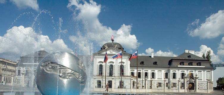 Grassalkovich palace, Bratislava, Slovak Republic