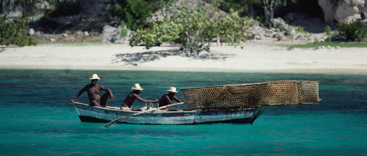 Haiti fishermen