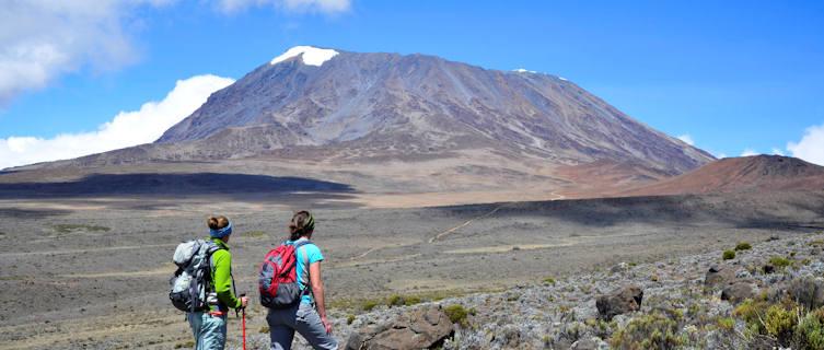 Hiking Kilimanjaro, Tanzania