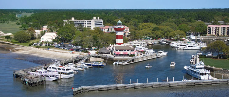 Hilton Head Lighthouse and Marina, South Carolina