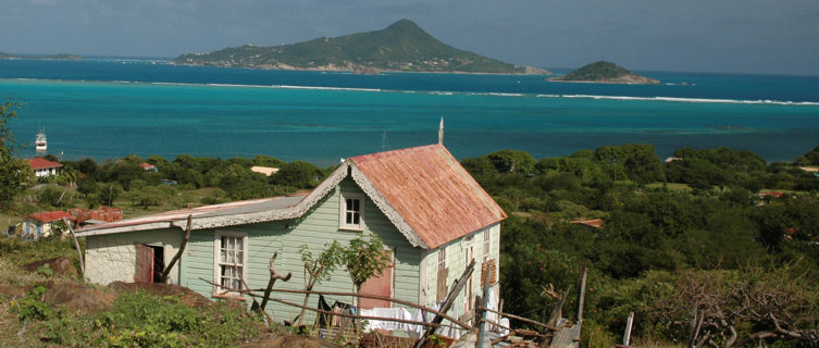 House looking out from Grenada