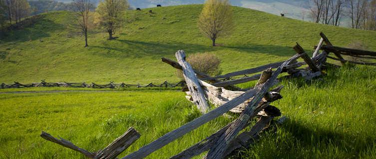 Idyllic countryside, Virginia