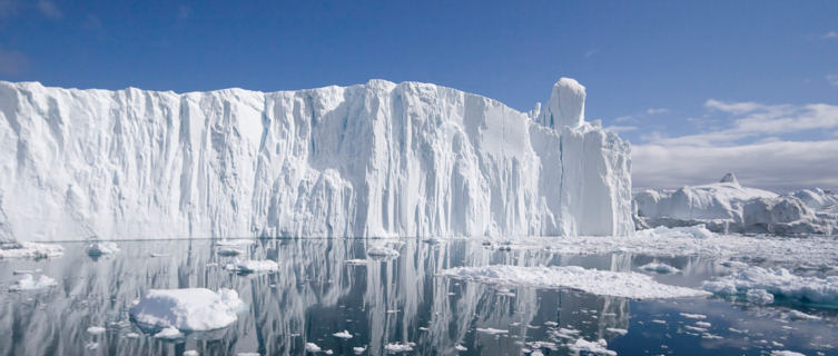 Ilulissat, or iceberg, in Greenland