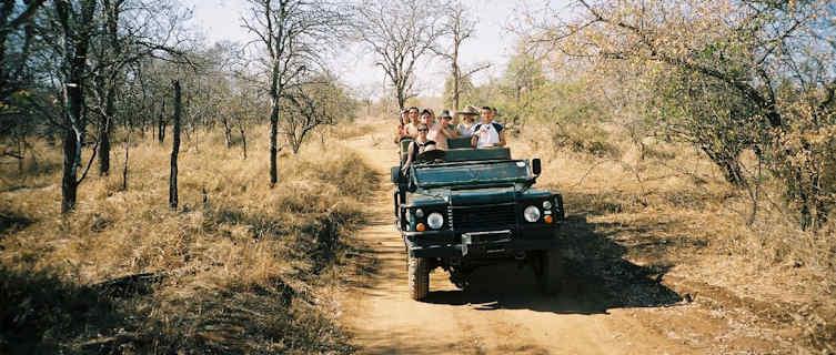 Jeep safari in Swaziland