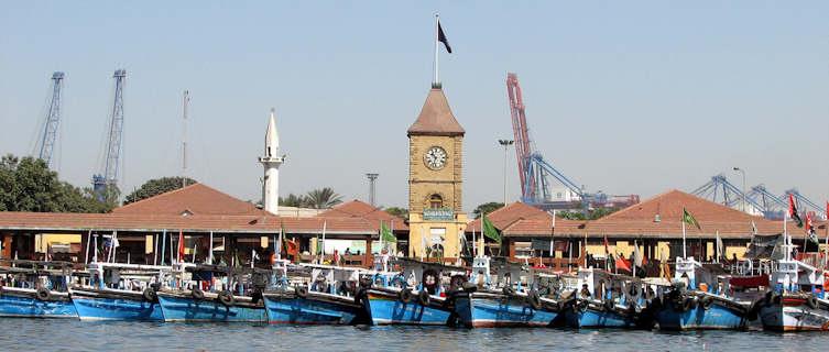 Karachi boat harhour, Pakistan