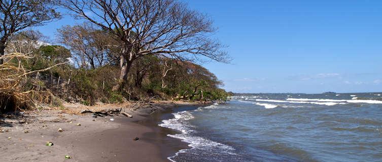 Kayak around Nicaragua's Ometepe Island