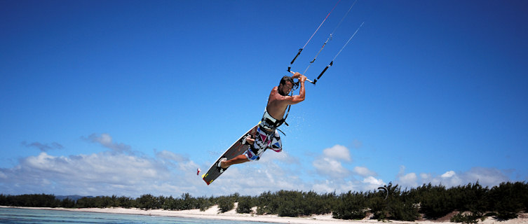 Kitesurfer, Madagascar