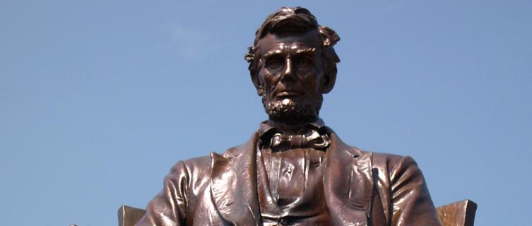 Lincoln at Hodgenville, Kentucky