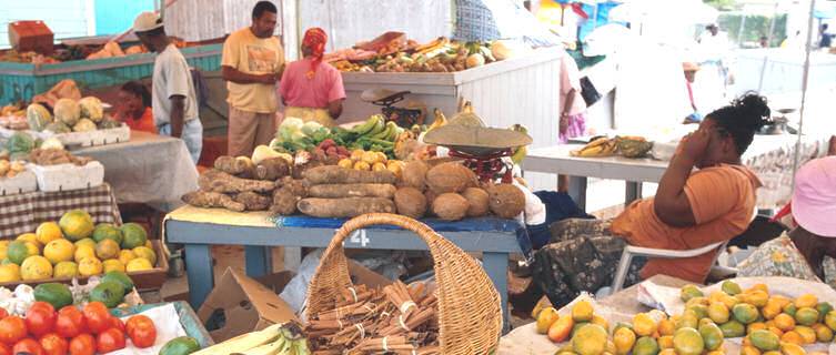 Local market, Antigua