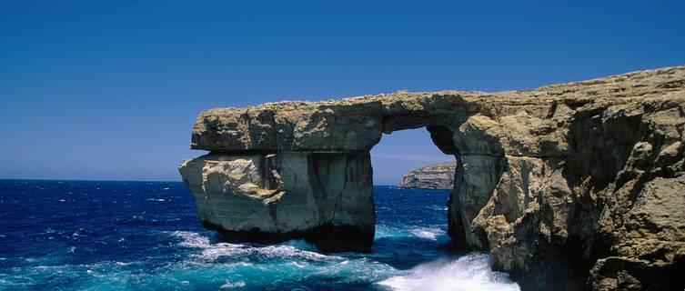 Malta's dramatic coastline